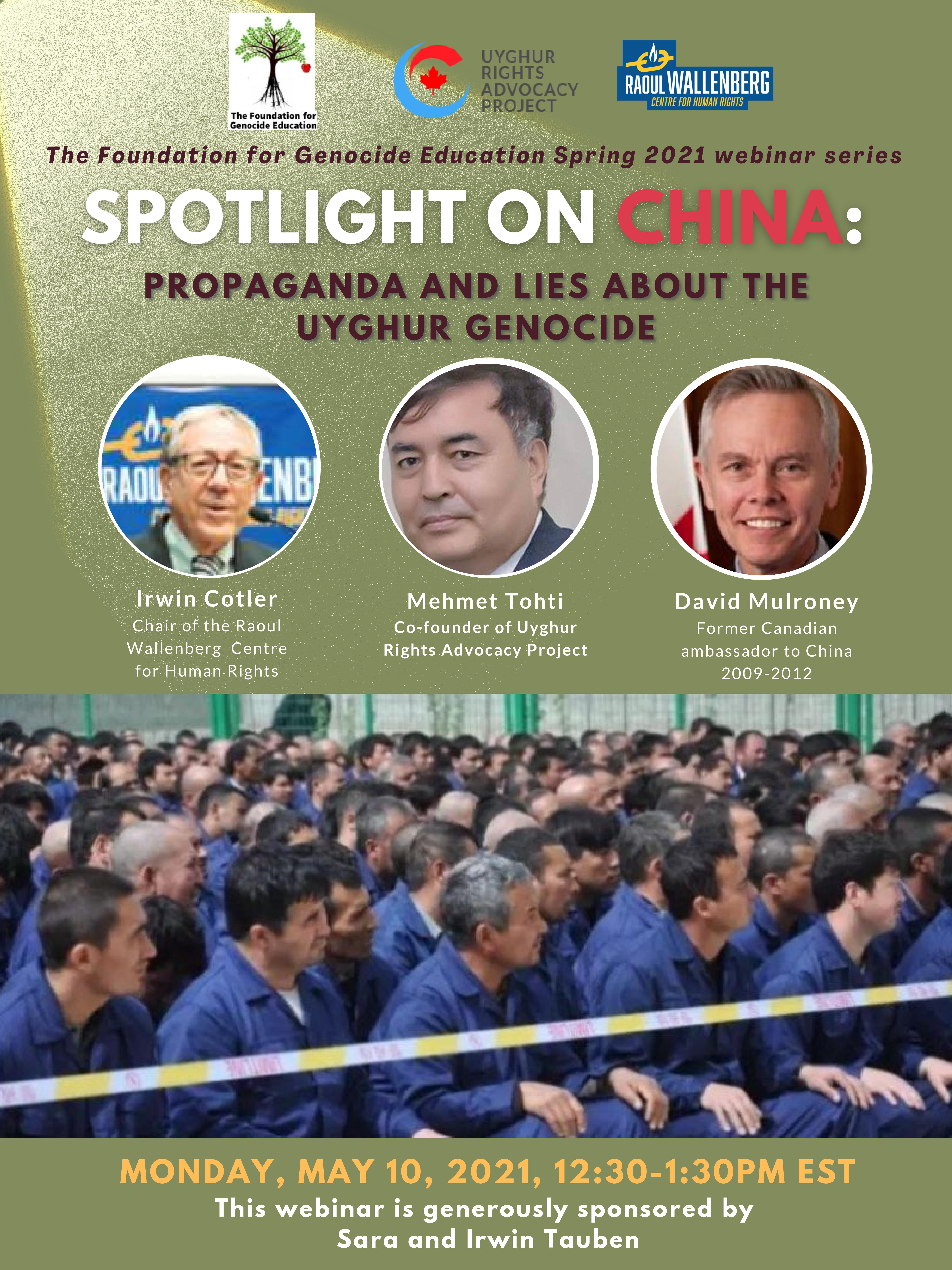 Spotlight on China: Propaganda and Lies about Uyghur Genocide